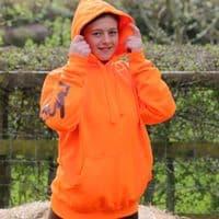 Eliza T Hi Viz Hoodie - Orange